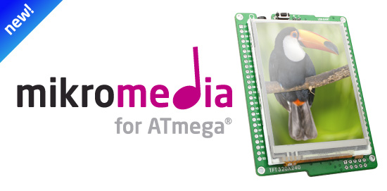 New mikromedia for ATmega v1.00 released!