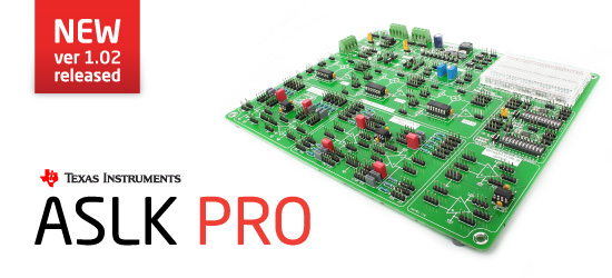 Analog System Lab Kit PRO v1.02 released!