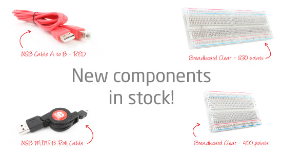 New Components In-Stock!