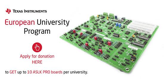 Texas Instruments® European University Program