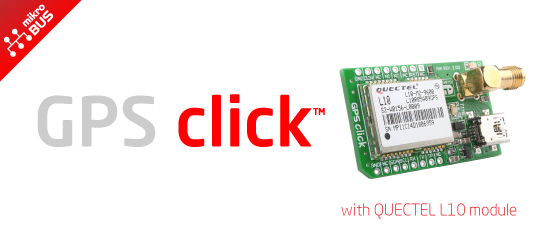 GPS Click - L10 released