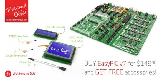Special EasyPIC v7 weekend offer!
