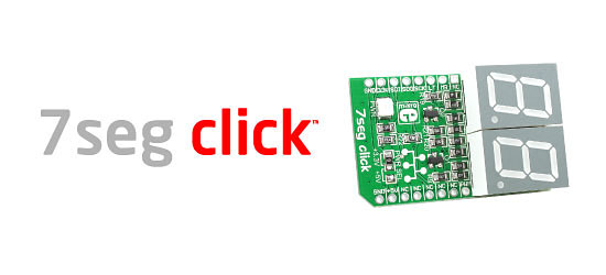 7seg click board released!