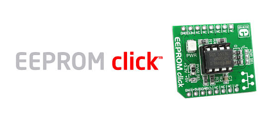 EEPROM click board released!