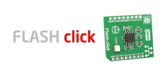 FLASH click board released!