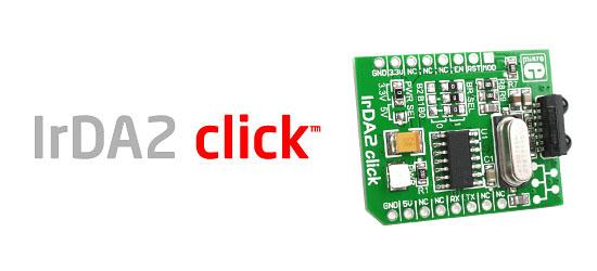 IrDA2 Click board released!