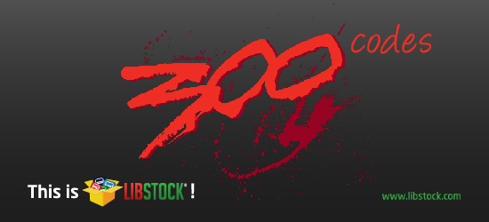 Libstock's got over 300 codes!