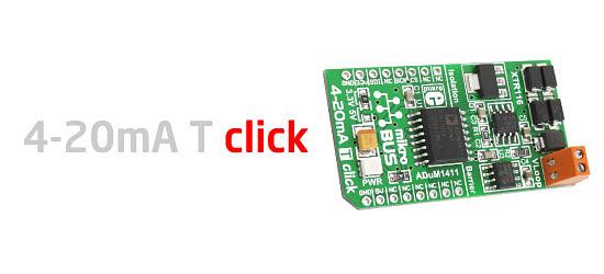 4-20mA T click board released!