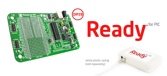 Ready for PIC (DIP28) development board released!