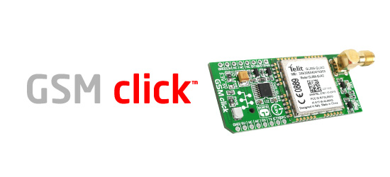 GSM click add-on board released!