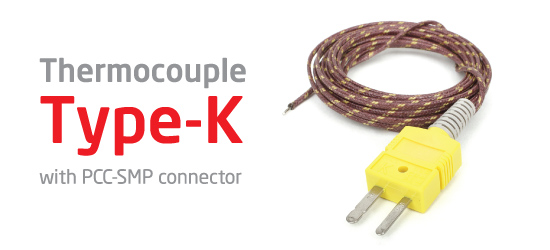 Thermocouple Type-K Glass Braid Insulated available now!