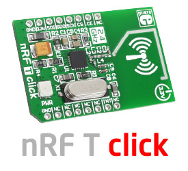 nRF T click board released!