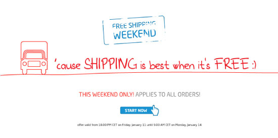 FREE SHIPPING on all orders THIS WEEKEND ONLY!