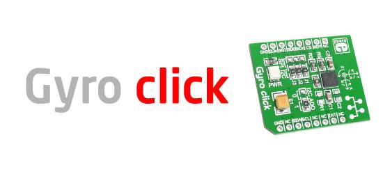 Gyro click board released!