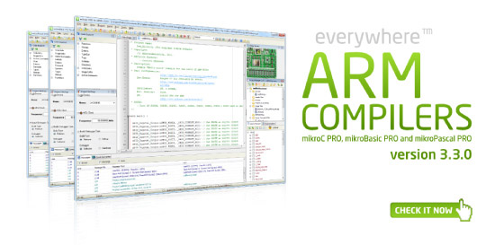 ARM compilers v3.3.0 released!