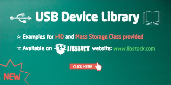 New USB Device Library Released!