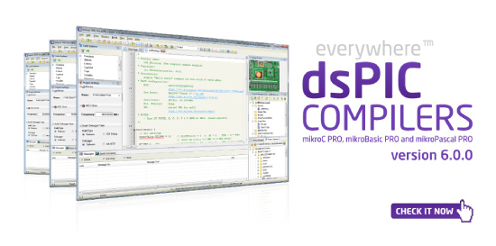 dsPIC/PIC24 compilers v6.0.0 released!