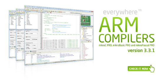 ARM compilers v3.3.2 released!