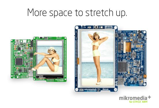 mikromedia+ for STM32 released!