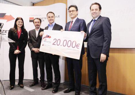 MikroElektronika's CEO pronounced entrepreneur of the year 2012 in Serbia
