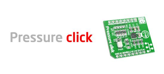 Pressure click board released!