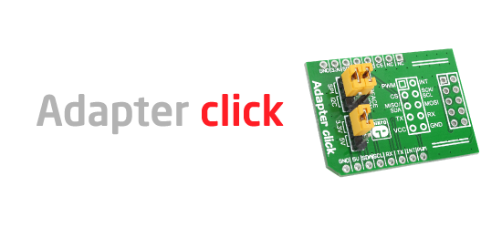Adapter click released!