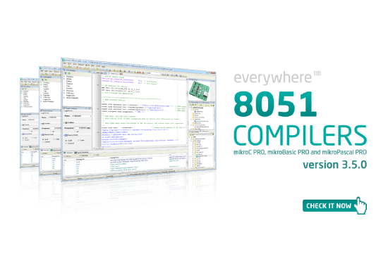 8051 compilers v3.5.0 released!