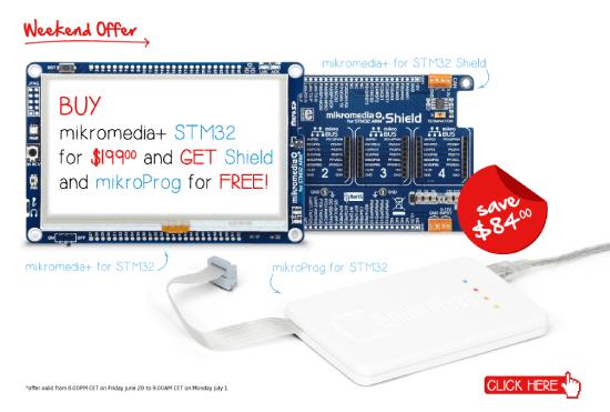 Special STM32 Weekend Offer!