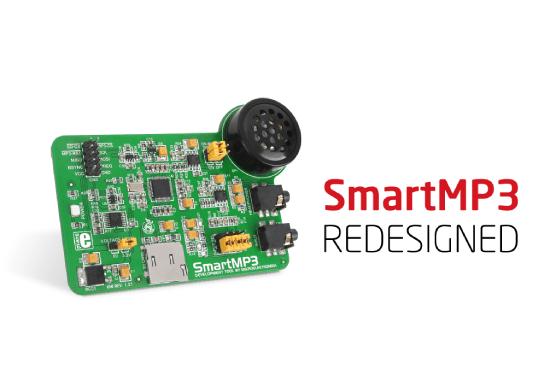 SmartMP3 Board Redesigned