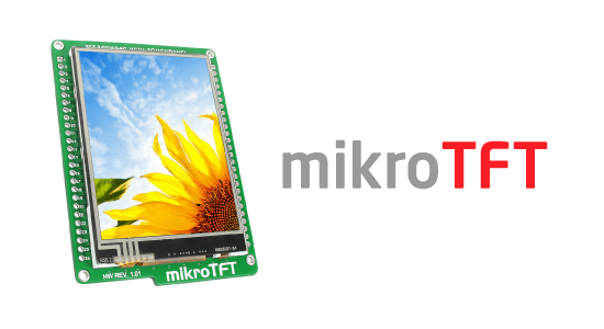 mikroTFT board released!