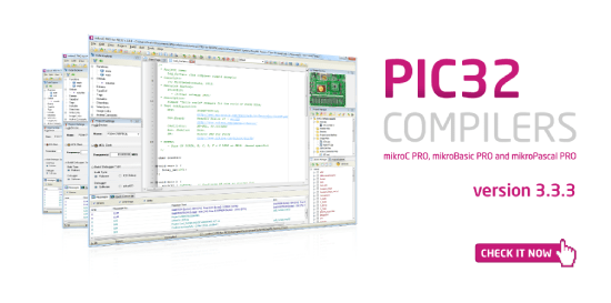 Live Update 3.3.3. for PIC32 compilers released