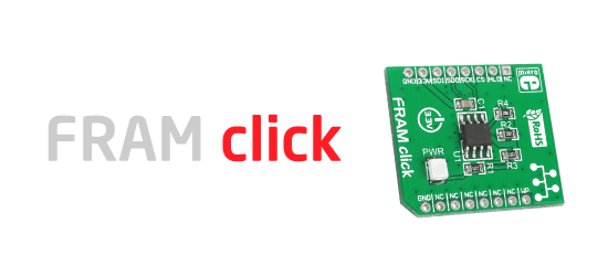 FRAM click released!