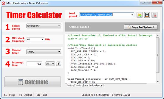 Timer Calculator v2.60 released!
