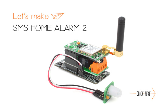 Let's make: SMS Home Alarm 2
