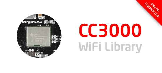 CC3000 WiFi Library released!