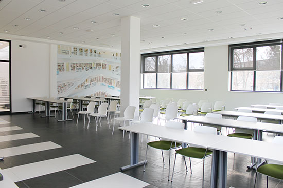 MikroElektronika Headquarters - Classroom