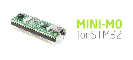 MINI-M0 for STM32 released!