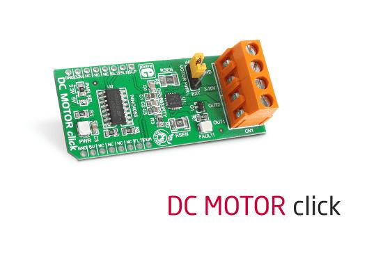 DC MOTOR click