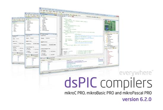 dsPIC compiler v6.2.0.