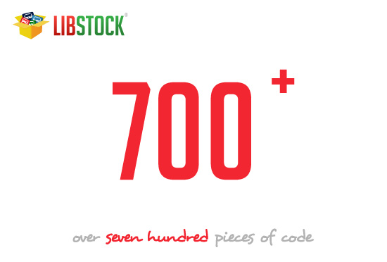 libstock: Over 700 pieces of code