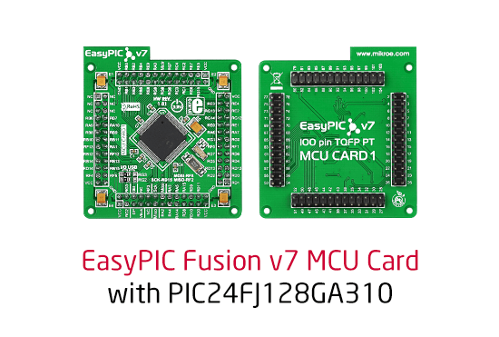 New MCU card for EasyPIC Fusion v7 released
