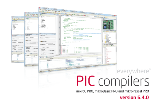 PIC compilers build 6.4 released