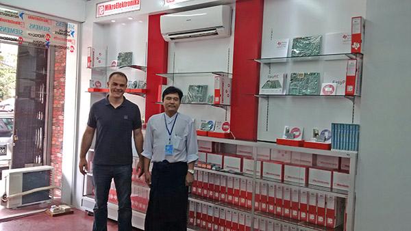 MikroElektronika at Science Fair in Myanmar