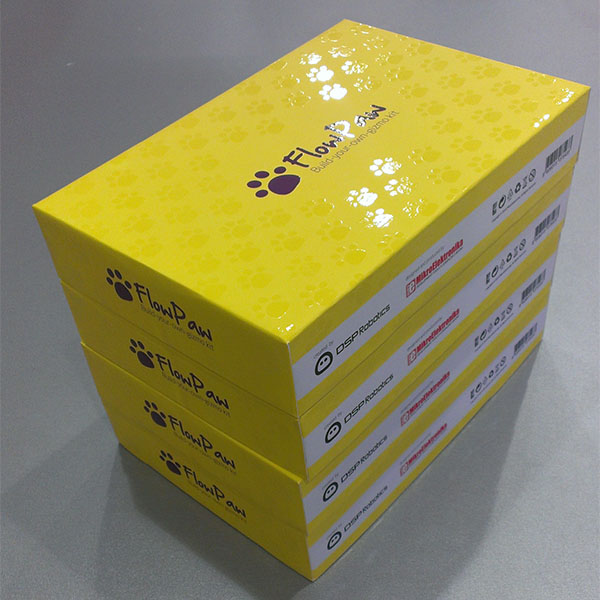 FlowPaw packaging