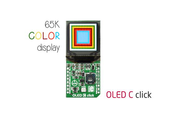 OLED C click