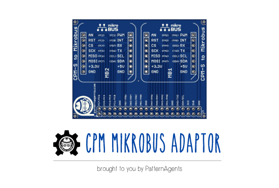 mikroBUS adapter for PSoC dev kits