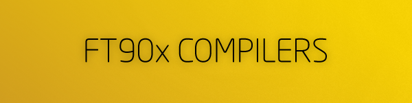 FT90x compilers