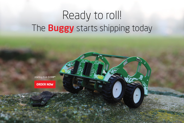 Buggy starts shipping today