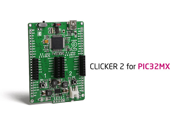 clicker 2 for PIC32MX