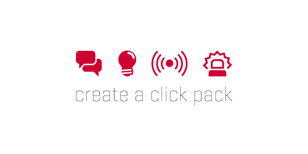 Create your click pack